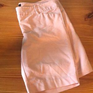 Soft pink Bermuda shorts
